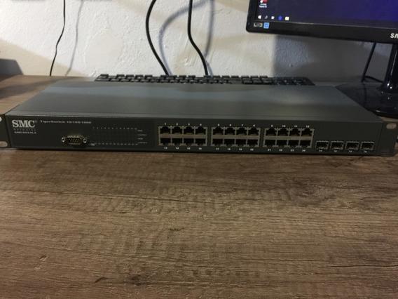 Switch Smc Smc8024l2 24 Puertos 10/100/1000