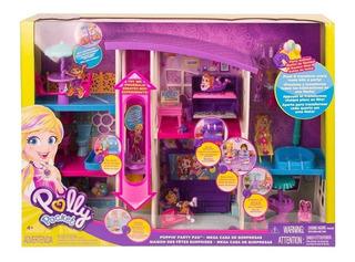 Polly Pocket Super Casa De Sorpresas Ultimas Version 2019