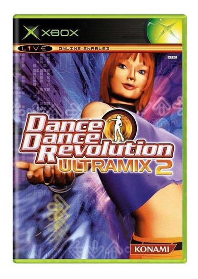 Dance Dance Revolution Ultramix 2 Xbox Mídia Física