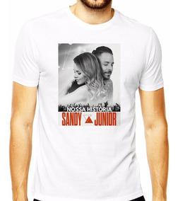 Camiseta Camisa Sandy E Júnior Nossa Historia 2019 Sandy