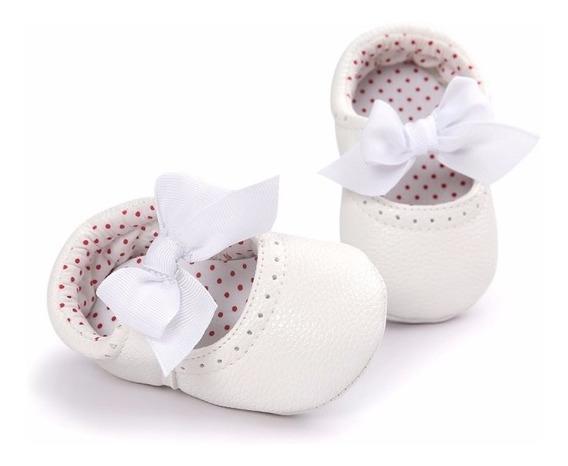 Zapatos / Mocasines Para Bebé Blancos