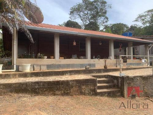 Chácara Com 4 Dormitórios À Venda, 1900 M² Por R$ 300.000,00 - Campo Novo - Bragança Paulista/sp - Ch0226