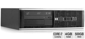 Computador Desktop Pc Hp Intel I7 3.4 Ghz 4 Giga Hd 500 Giga