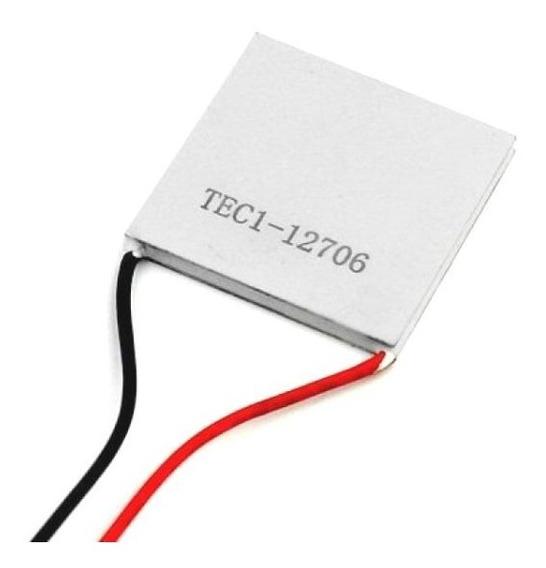 Tec1 12706 Pastilha Termoeléctrica Peltier
