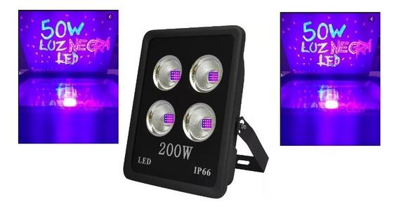Refletor 200w Uv Ultra Violeta Fast Curing Dj Luz Negra