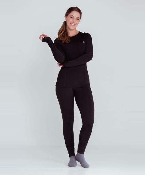 Pantalón Thermodry 2.0 Mujer Negro Talla 8 - Color Negro T
