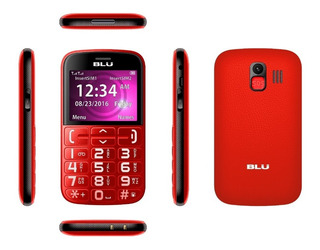 Celular Blu Joy - Teclas Grandes - Dual Sim - Mvd Mobile