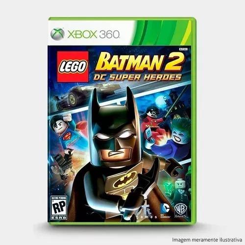 Jogo Lego Batman 2 Xbox 360 Midia Física Português Novo