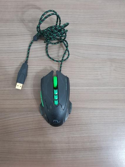 Mouse Gamer Mo218 Metal Wear 2500dpi Preto Multilaser