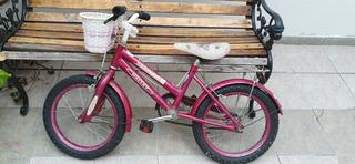 Bicicleta De Paseo Nena Rodado 16