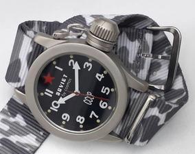 Relógio Soviet By Cosmos Cccp Combat Diver Militar Raridade