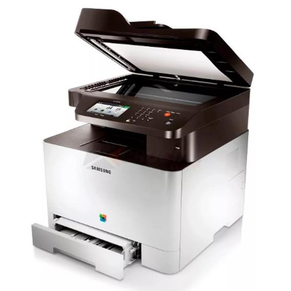 Multifuncional Samsung Clx-4195fw Clx4195 Laser Colorida Nfe