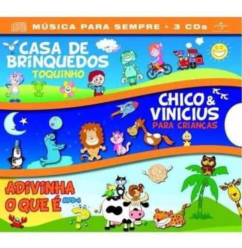Box - 3 Cds - Música Para Sempre -( Casa De Brinquedos ....