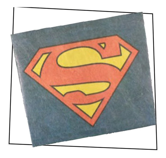 Billetera Tyvek - Superman - Original Dc Comics