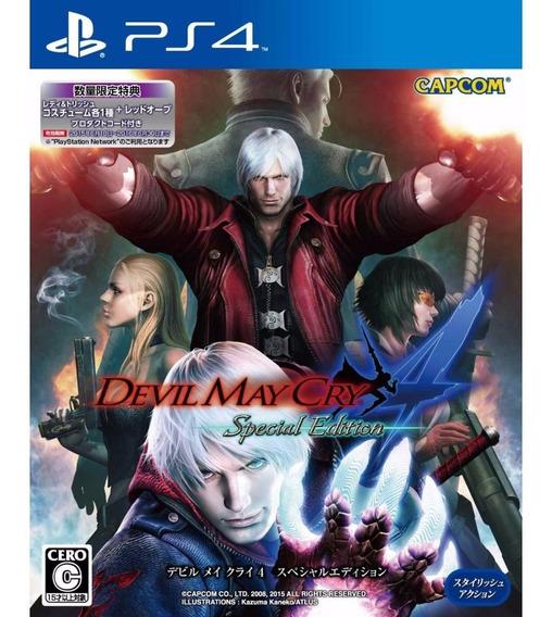 Devil May Cry 4 Special Edition - Ps4 Mídia Física