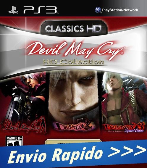 Ps3 Devil May Cry Hd Collection - Digital Psn Envio Agora
