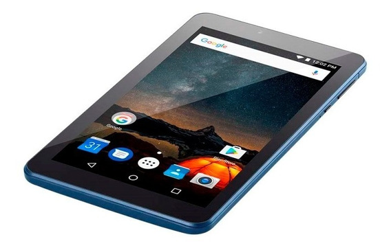 Tablet 7 Polegadas Original Nfe 274 Azul Quad Core Andoid 7