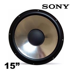 Subwoofer Alto Falante Sony 15 Polegadas 4ohms Sh2000 500w
