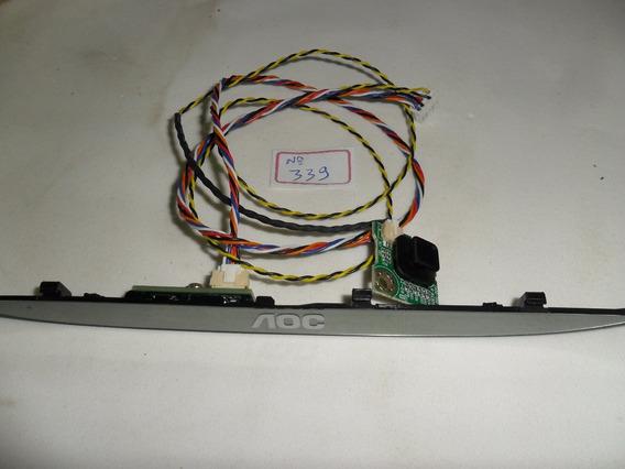 Tecla Pawer + Sensor Remoto Tv Aoc Le32d2350