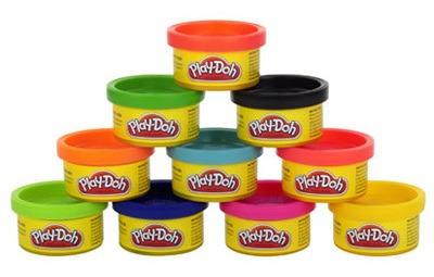 Massinha Play-doh - 10 Mini Potes - Hasbro