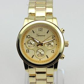 9b74fff72e88 Reloj Geneva Dorado - Relojes Pulsera en Mercado Libre Chile