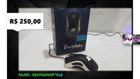 Razer Mouse Deathadder C L G * Mostruário