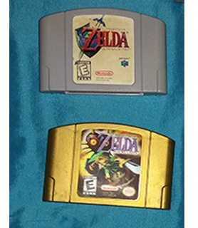 Zelda Ocarina Of Time Y Zelda Majoras Mask N64