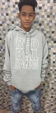 Moletom Red Bull - Moletom Masculinas Prateado no Mercado Livre Brasil 347c651686a
