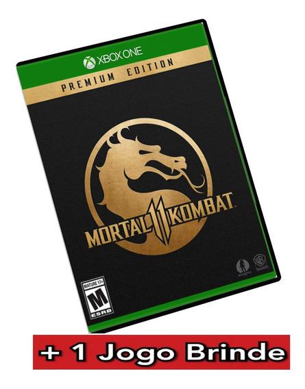 Mortal Kombat 11 Premium Xbox One Mídia Digital + Brinde