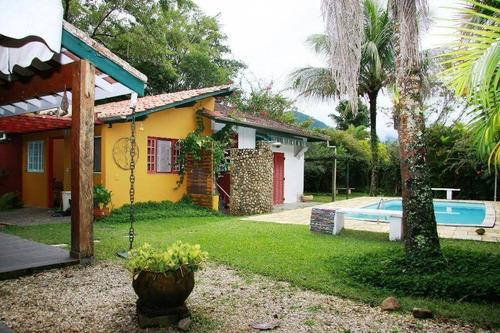 Casa Com 4 Dormitórios, 03 Suites, À Venda, 194 M² - Tabatinga - Caraguatatuba/sp - Ca0919