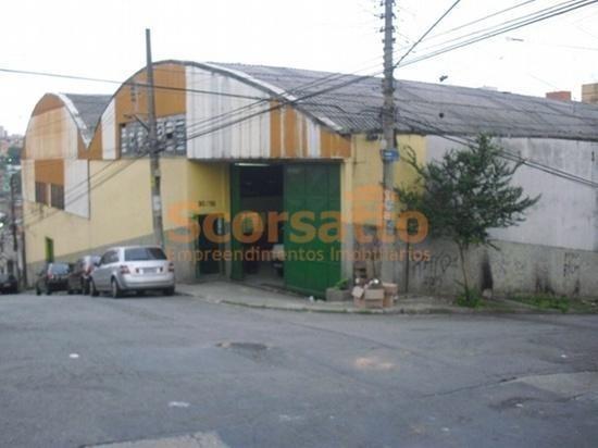 Galpão Comercial Para Venda E Locação, Vila Moraes, São Paulo. - Ga0023