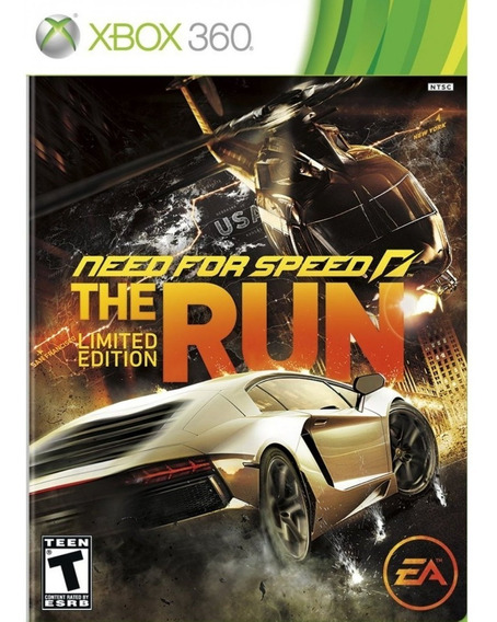 Need For Speed The Run - Xbox 360 Mídia Física Lacrada