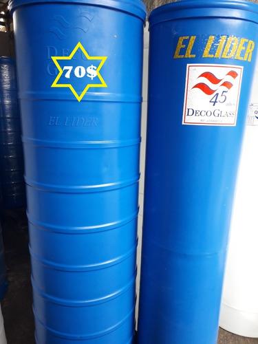 Tanques Cilindricos Apartemento 320ltrs Azul/blanco Tienda