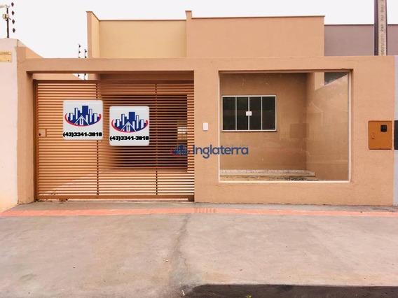 Casa À Venda, 86 M² Por R$ 316.000,00 - Jardim Casa Grande - Cambé/pr - Ca0985