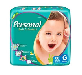 Fralda Infantil Personal Hiper 3 Pacotes Tamanho G Premium