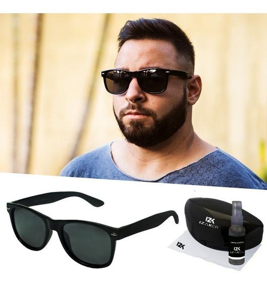 Óculos De Sol Masculino Não Quebra Flexivel Original Policar
