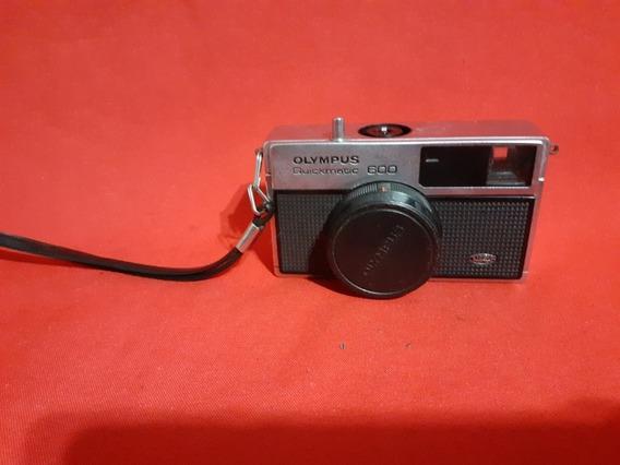 Câmera Fotográfica Antiga Olympus Quickmatic 600