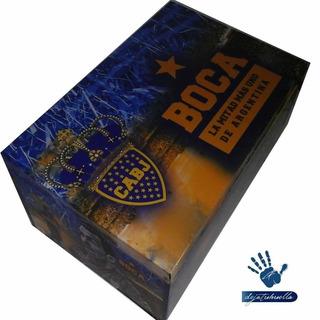 Boca Juniors Cofre De Madera (26x16x20)
