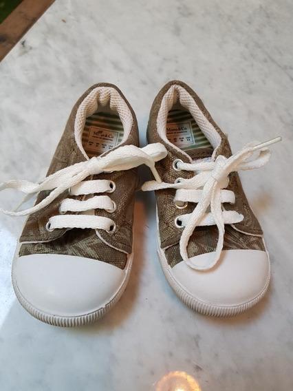 Zapatillas Lona Estampada Mimo 22