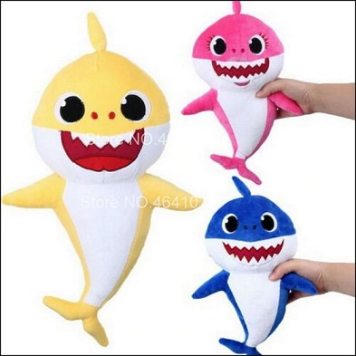 Baby Shark De Pelucia Musical 33 Cm