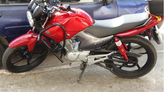 Moto Yamaha Ybr 125cc 2011 Cor Vermelha