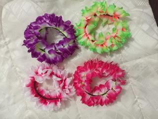 Balaca Diadema De Flores Catrina Hora Loca Hawaiana Mexicana