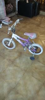 Bicicleta Rodado 12. Con Rueditas.