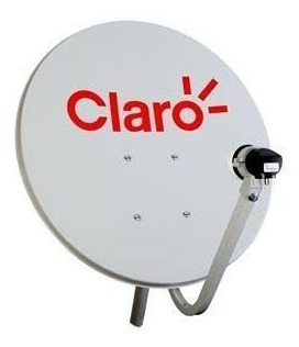 Antenas Parab 60 Cm Banda Ku Claro Tv C 1lnbs Duplo