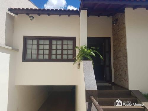 Casa Com 3 Dormitórios À Venda, 286 M² Por R$ 750.000,00 - Parque Primavera - Poços De Caldas/mg - Ca1396