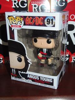 Pop! Rocks A C / D C- Angus Young (91) + Caja Protectora *