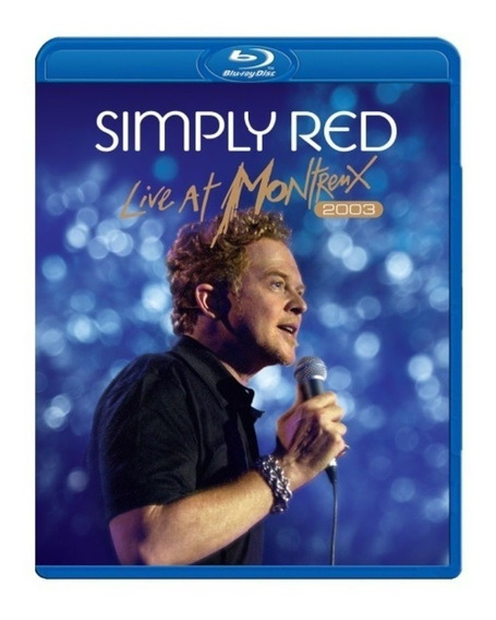 Simply Red Live At Montreux 2003 Blu - Ray Lacrado Fabrica