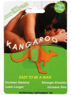 Pastilla Vigorizante Para Hombre Kangaroo