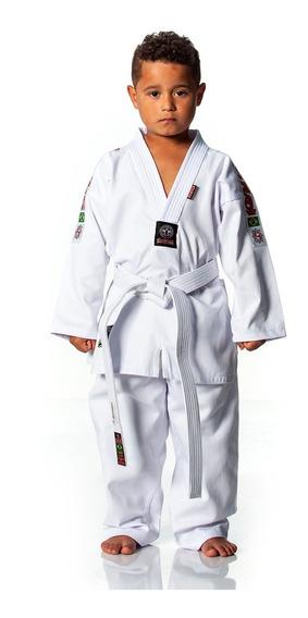 Dobok Taekwondo Infantil Start Algodao Kimono + Faixa Branca