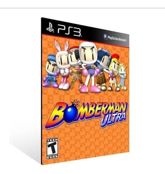 Bomberman Ultra Ps3 Jogo Psn Comprar